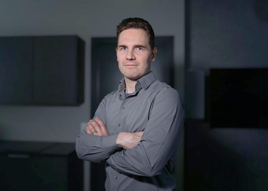 Aluepäällikkö Juha Glad